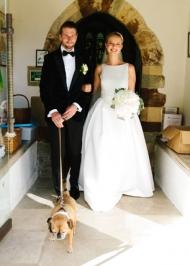 Gayle wearing Jesus Peiro from Miss Bush Surrey UK Bridal Boutique (3)
