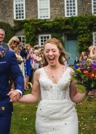 Jess Maggie Sottero Miss Bush bridal shop Surrey UK (1)