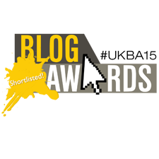 UK Blog Awards 2015 - Shortlisted Logo