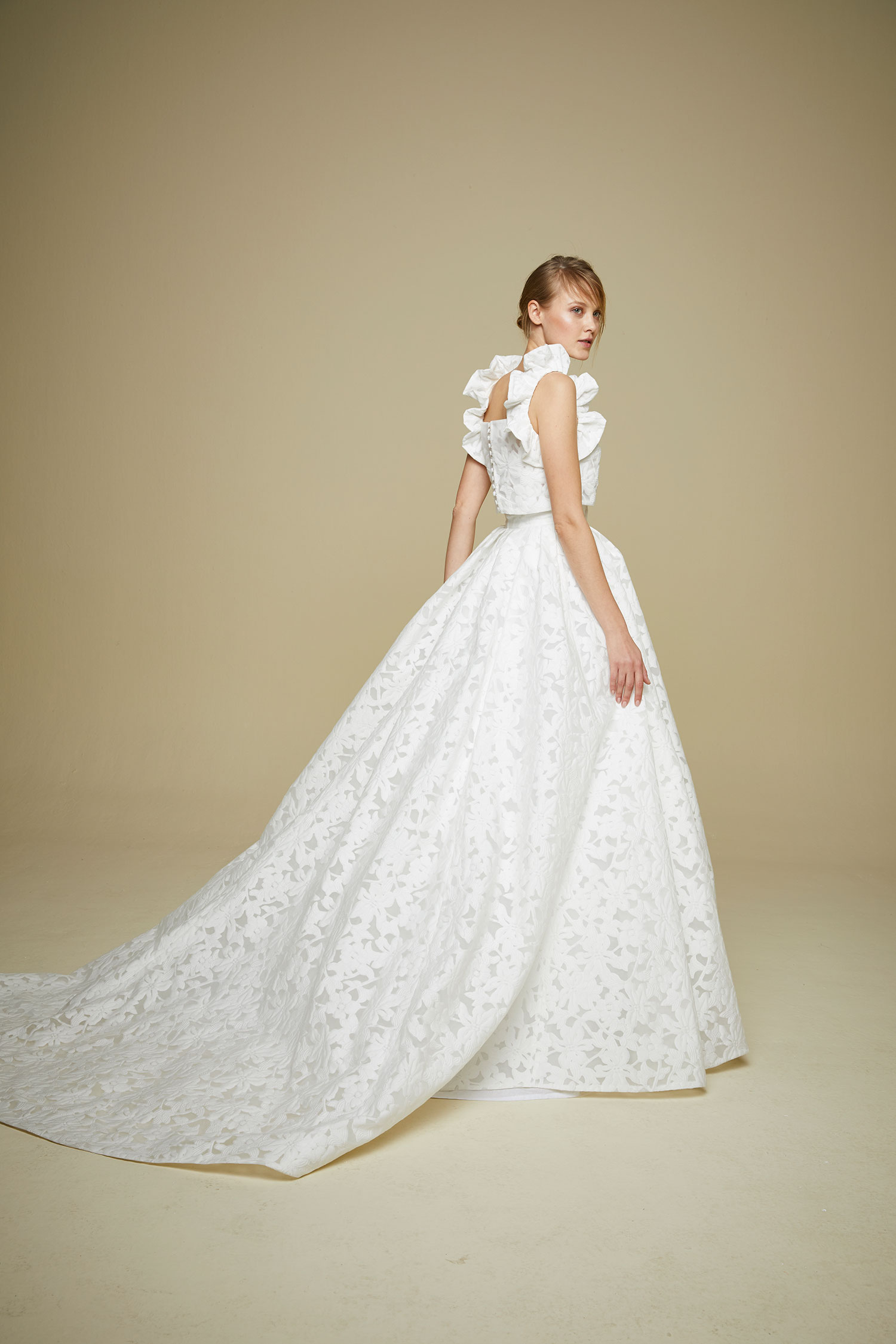 920 Jesus Peiro contemporary designer fashion wedding dress Miss ...