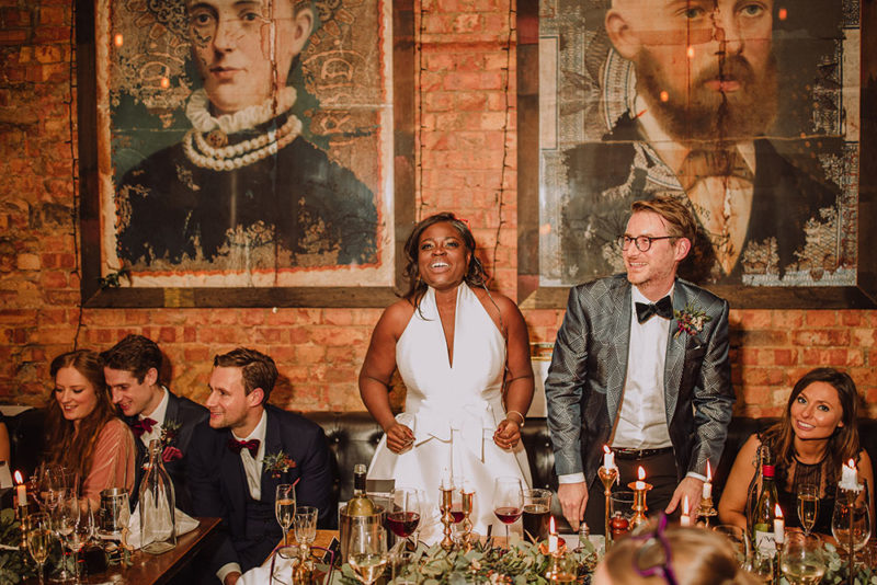 New Years Eve Wedding.Aisha Jesus Peiro London St Pancras New Years Eve Wedding 29