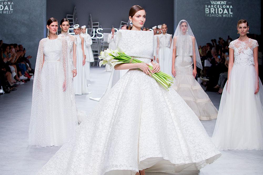 Bridal Fashion Week 2020.Cala Jesus Peiro 2020 Bridal Collection Fresh From